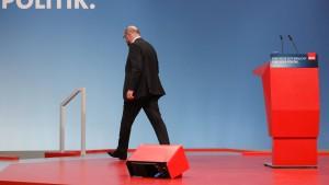 Gibt Schulz sein Amt schon am Dienstag ab?
