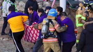 Mindestens 37 Tote bei Krankenhausbrand in Südkorea