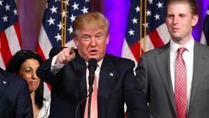 Trump und Clinton bauen ihren Vorsprung aus