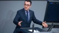 Bekannt für klare Haltungen: Cem Özdemir während einer Rede im Bundestag