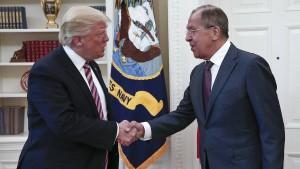 Trump verteidigt Weitergabe sensibler Informationen an Russland