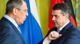 Röttgen kritisiert Gabriels Russland-Vorstoß