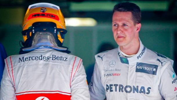 Hamilton übernimmt Schumachers Cockpit