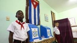 Kubaner stimmen über Parlament ab