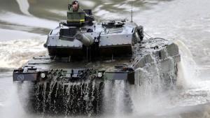 Keine Leopard-Panzer für Saudi-Arabien