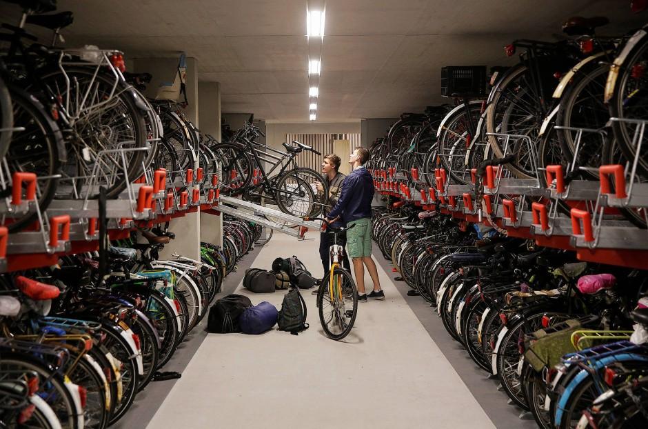 Fiets: Fahrradgarage in Utrecht
