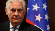 Trump feuert Außenminister Tillerson