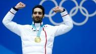 Fourcade gewinnt dramatisches Biathlon-Finale