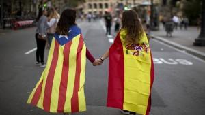 EU-Kommission will sich aus Katalonien-Konflikt heraushalten