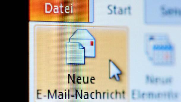 E-Mail-Nutzer müssen Einstellungen ändern