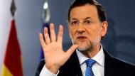 Mariano Rajoy hofft in der Schuldenkrise auf die EZB