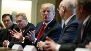Trump nennt sich selbst einen Verrückten