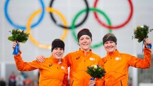 Vierfachsieg in Orange