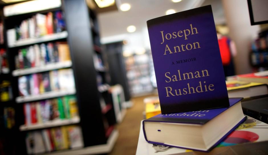Das Cover von Rushdies Biographie