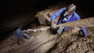 Illegale Goldsuche in Südafrika