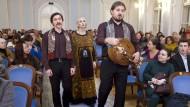 Komm zu uns in die Kolchose: Sänger des Pokrowski-Ensemble