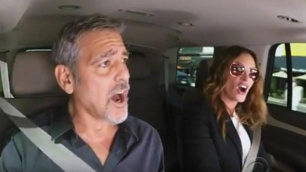 George Clooney und Julia Roberts singen im Duett