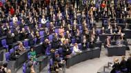 Bundestag wählt Merkel zur Bundeskanzlerin
