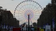 Abgedreht: Das Riesenrad auf der Place de la Concorde soll auch verschwinden.