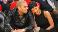 Die Gewalt zwischen Chris Brown und Rihanna hatte 2009 hohe Wellen geschlagen. (Archivfoto)