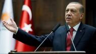 Für ihn läuft alles nach Plan: Recep Tayyip Erdogan