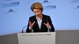 Wird von der Leyen die nächste Nato-Generalsekretärin?