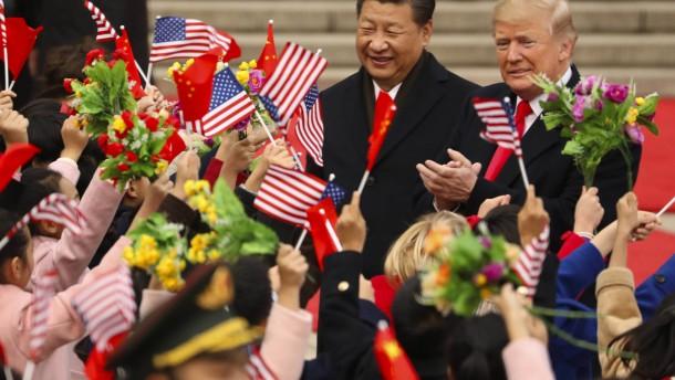 Trump will China auf frischer Tat ertappt haben