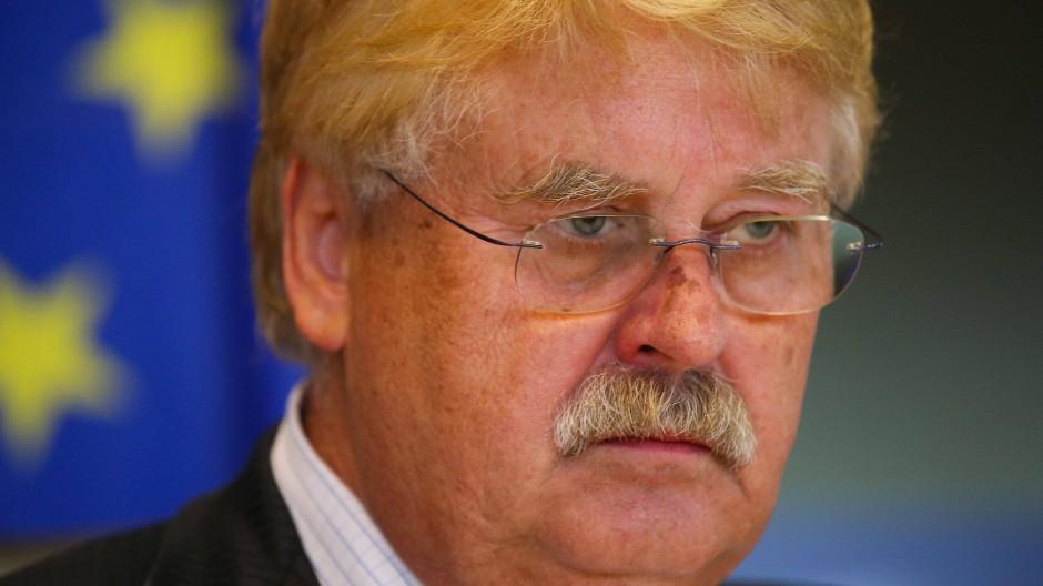 Der dienstälteste Parlamentarier des europäischen Parlaments Elmar Brok