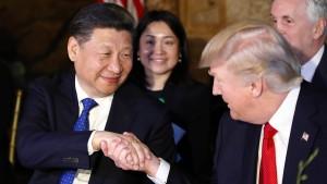 Trump will Peking in die Pflicht nehmen