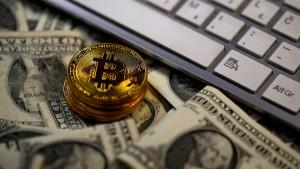 Bitcoin fällt unter 6000 Dollar