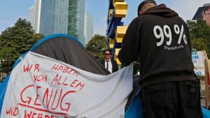 Occupy-Mahnwache geräumt