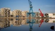 Das neue Wohnviertel am Main steht für den Wandel der Stadt