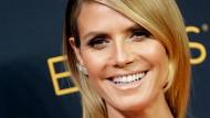 Hat Heidi Klum trotz Trennung noch immer gut lachen? Wenigstens ist es nun mit den Schnabel-Witzen vorbei.
