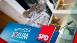 SPD-Mitglieder wollen Urwahl des Parteivorsitzes erreichen