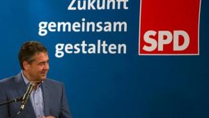 Gabriel rechnet mit SPD-Wahlkampf ab