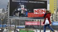 Am 4.März stimmen die Schweizer über die Finanzierung ihres öffentlich-rechtlichen Rundfunks ab.
