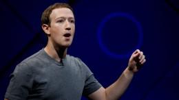 Zuckerberg räumt Fehler ein