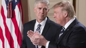 Trump nominiert Neil Gorsuch als neuen Verfassungsrichter