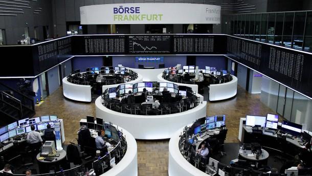Neue Rekordmarken für deutsche Aktien