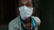Tuberkulosepatient / Indien / Kalkutta