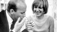 Waren eng befreundet: Ingeborg Bachmann und der Komponist Hans Werner Henze