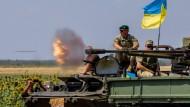 Die Ukraine im August: Frieden ist es nicht, was hier herrscht.