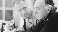 Thomas Bernhard und sein Verleger Siegfried Unseld