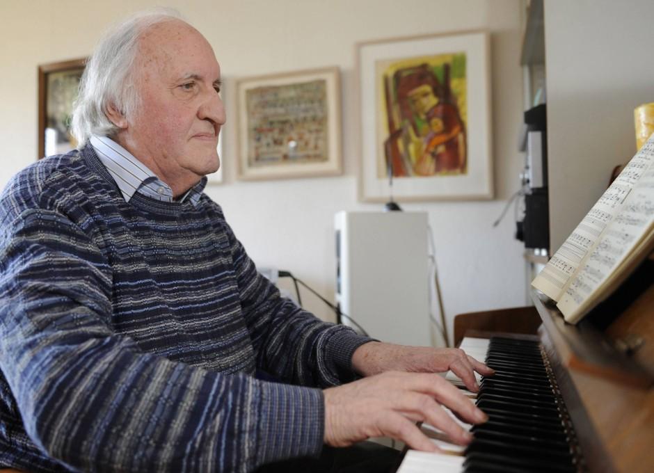 Komponist des Charthits: der evangelische Theologe und Kirchenmusiker Martin Gotthard Schneider