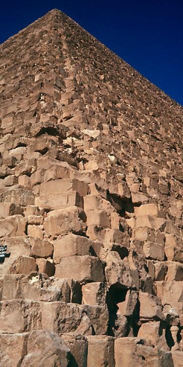 Bau Cheops Pyramide