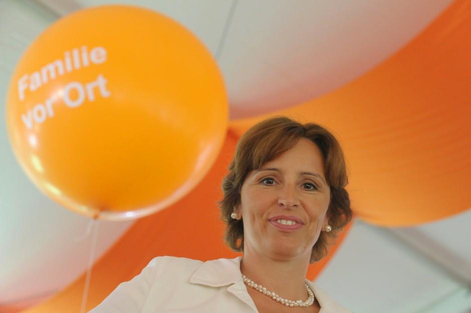 Aufstiegschance in der Politik genutzt: Die bayerische Sozialministerin Christine Haderthauer (CSU)