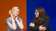 Heidi Benneckenstein und Deborah Feldman im Gespräch in Frankfurt