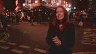 Barbara Laban in Londons Chinatown