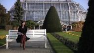 Ulrike Schrimpf im Botanischen Garten Berlin
