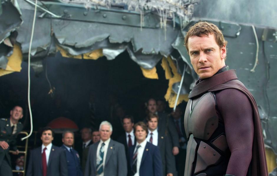 "Michael Fassbender in ""X-Men: Days of Future Past"""